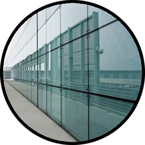 Structural Glazing Product : Al ruwad aluminium wood industries dubai sharjah